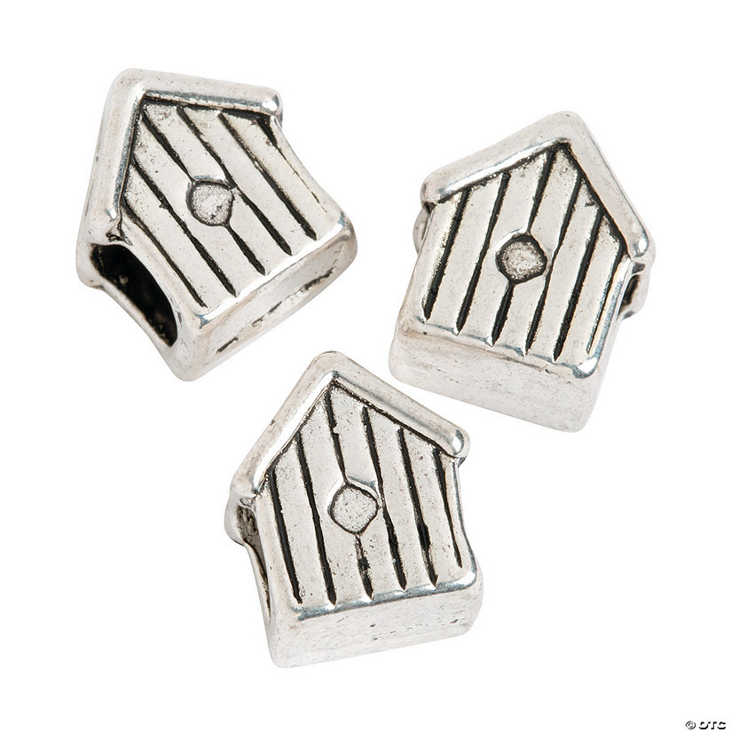 Birdhouse Large Hole Beads - 10mm Audio Thumbnail