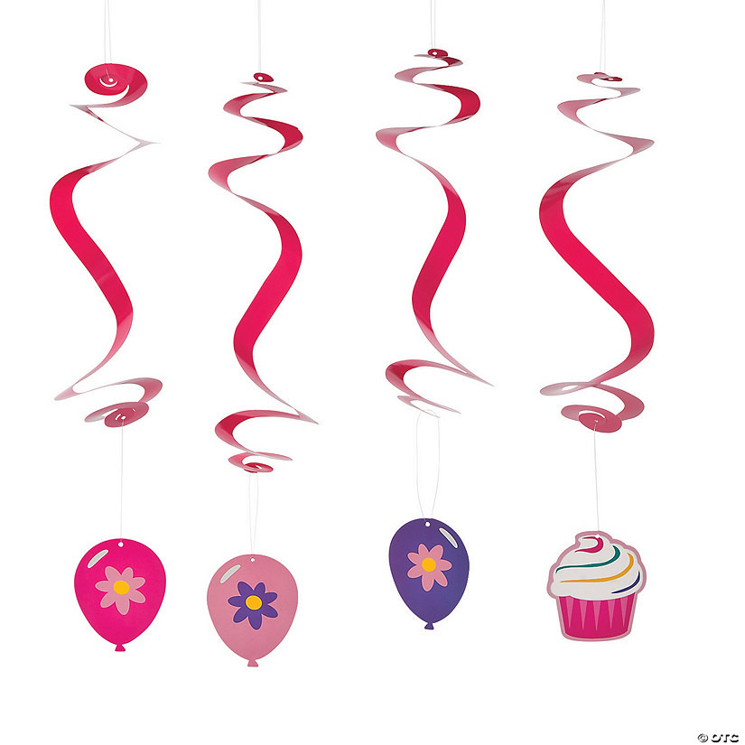 Birthday Cupcake Hanging Swirls Audio Thumbnail