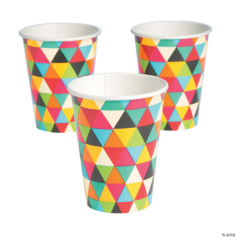 Birthday Kraft Cups