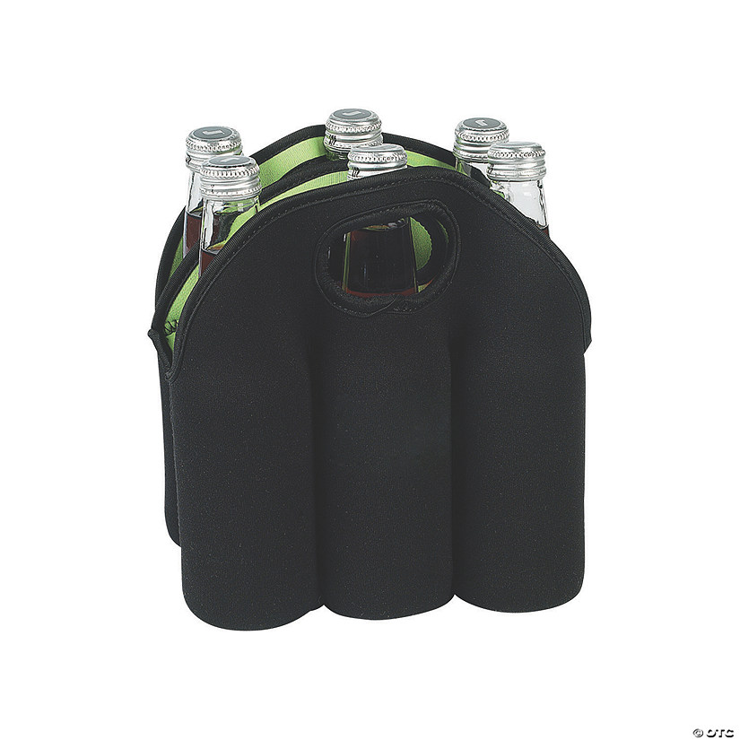 Black 6-Bottle Cooler