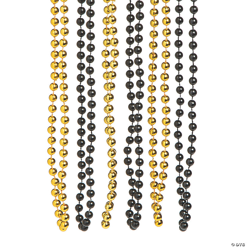 Black & Gold Beaded Necklaces Audio Thumbnail