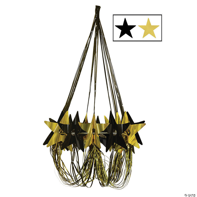 Black & Gold Star Chandelier Decoration Audio Thumbnail