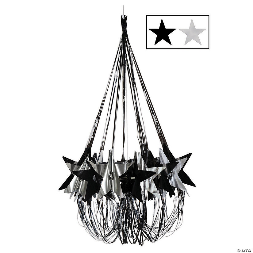 Black & Silver Star Chandelier Decoration Audio Thumbnail