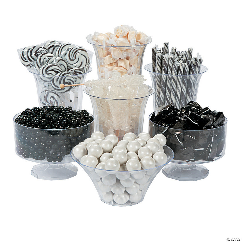 Black & White Candy Buffet Assortment Audio Thumbnail