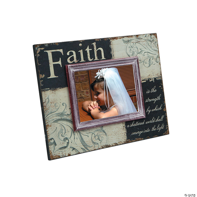 Black and White Faith Picture Frame Audio Thumbnail