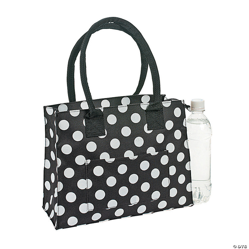 Black & White Polka Dot Tote Audio Thumbnail