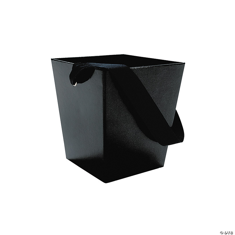 Black Candy Buckets with Ribbon Handle Audio Thumbnail