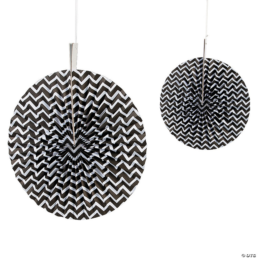 Black Chevron Hanging Fans Audio Thumbnail
