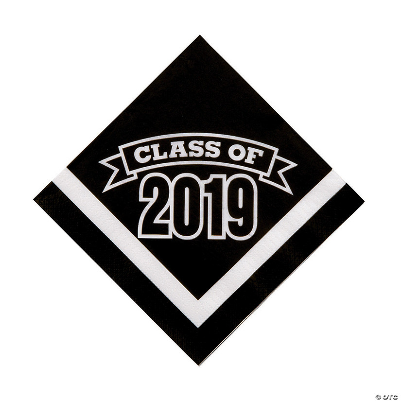 Black Class of 2019 Luncheon Napkins Audio Thumbnail