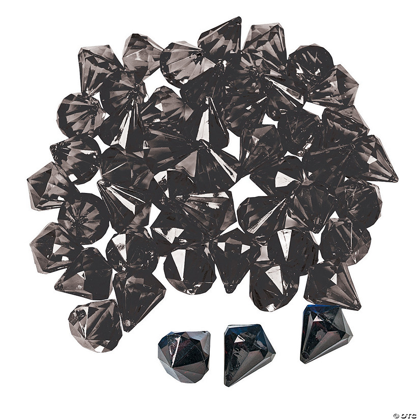 Black Diamond-Shaped Gems Audio Thumbnail