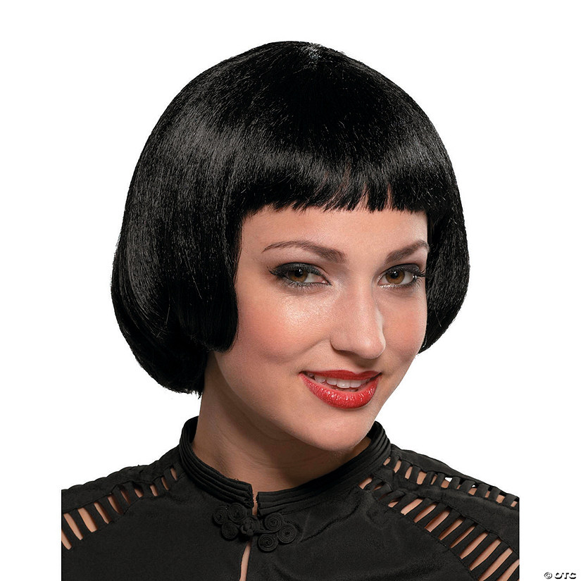 Black Flapper Sassy Wig Audio Thumbnail