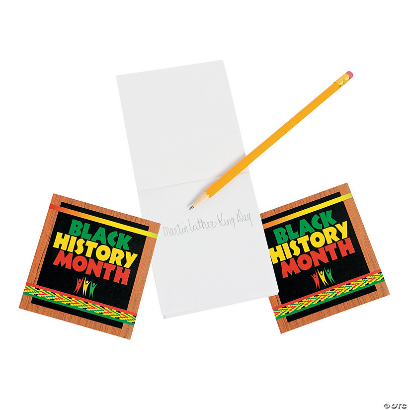 Black History Month Notepads Image Thumbnail