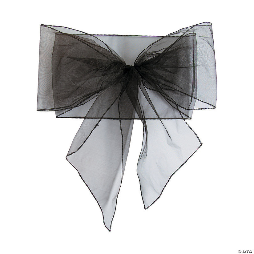 Black Organza Chair Bows Audio Thumbnail