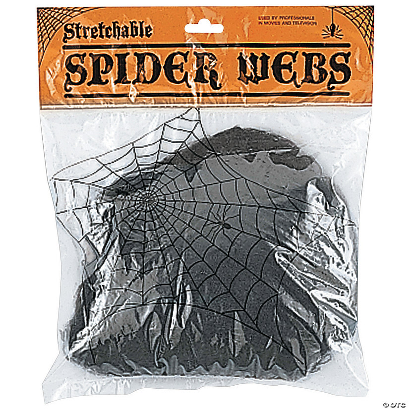 Black Spider Web Wall Decoration