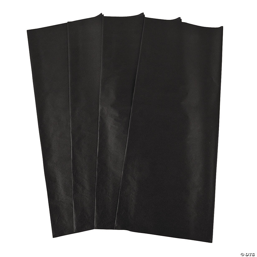 Black Tissue Paper Sheets