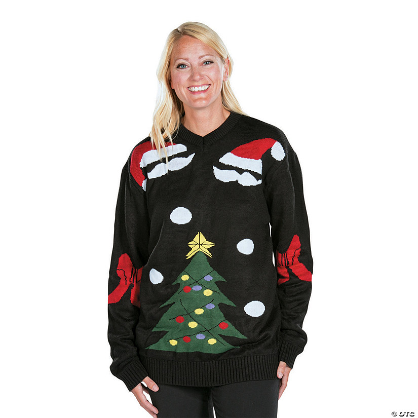 576c915923214 Black Ugly Christmas Sweater | Oriental Trading