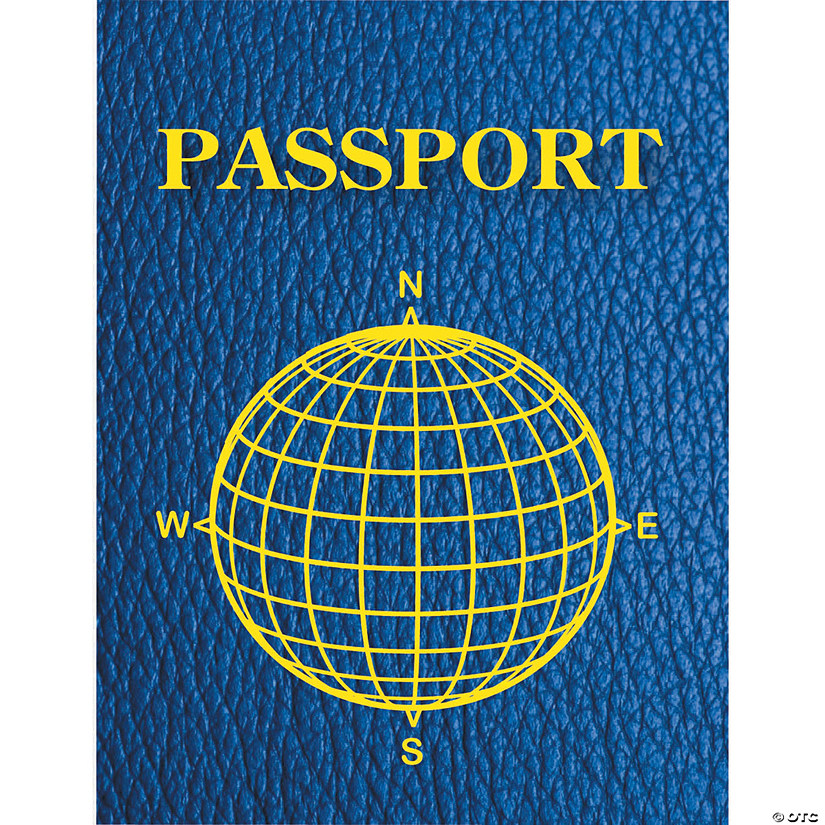 Blank Passports, 12 per Pack, Set of 3pks