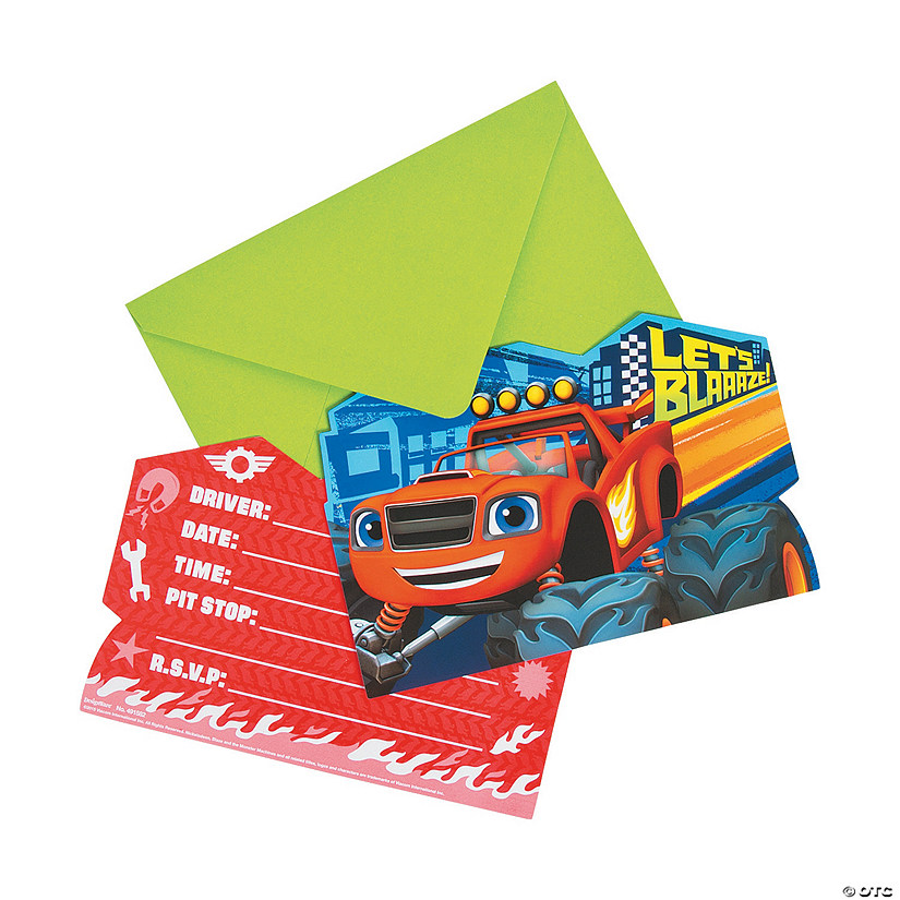 Blaze & the Monster Machines™ Invitations