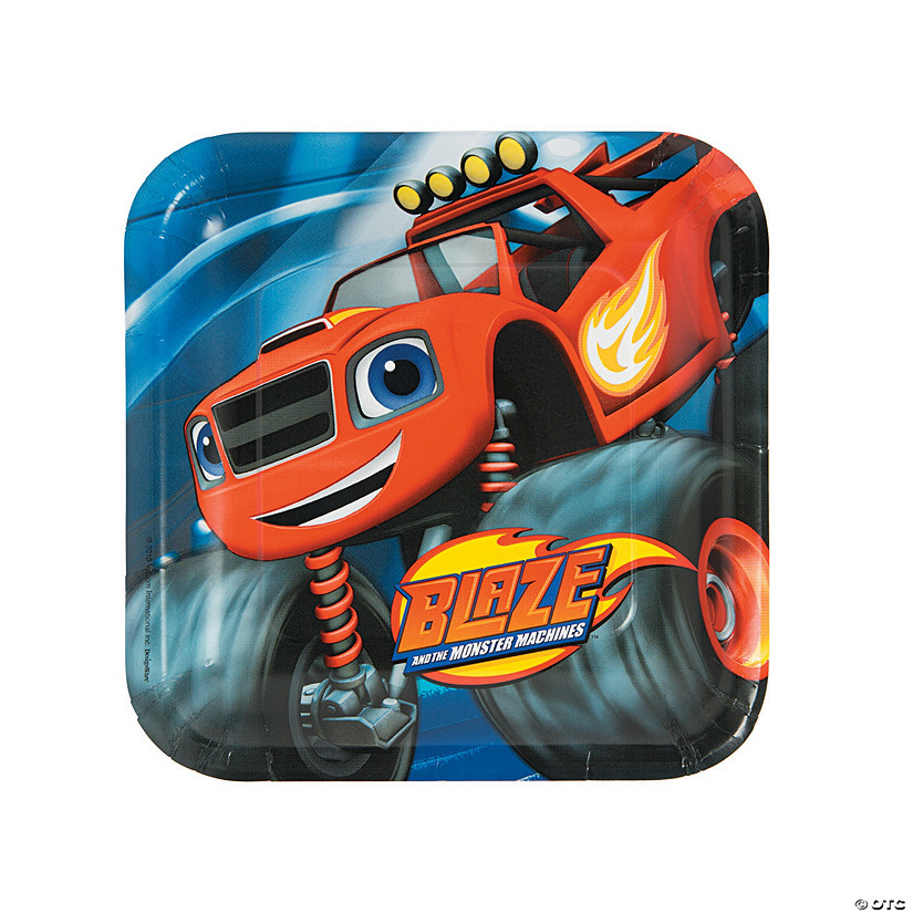 Blaze and the Monster Machines™ Paper Dinner Plates - 8 Ct. Audio Thumbnail