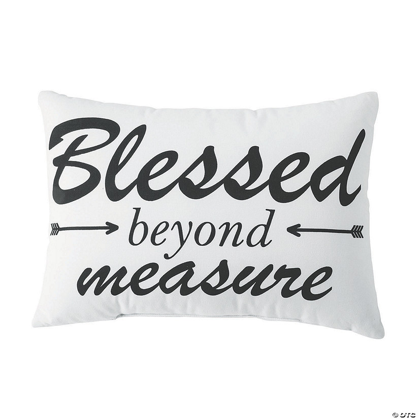 Blessed Beyond Measure Pillow Audio Thumbnail