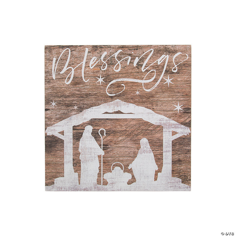 Blessings Nativity Sign Image Thumbnail