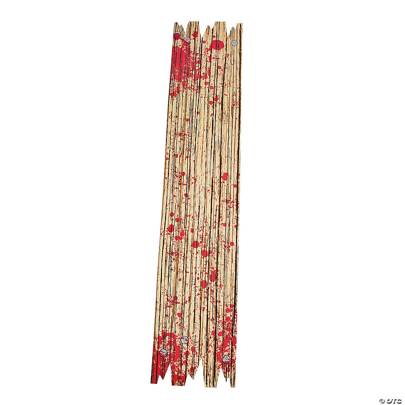 Bloody Wooden Planks Wall Decorations Image Thumbnail