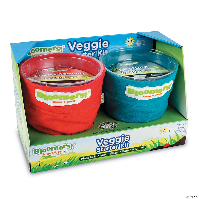 Bloomers! Veggie Growing Kit: Tomato & Lettuce Audio Thumbnail