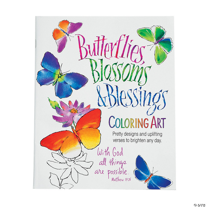 Blossoms & Blessings Coloring Book Audio Thumbnail