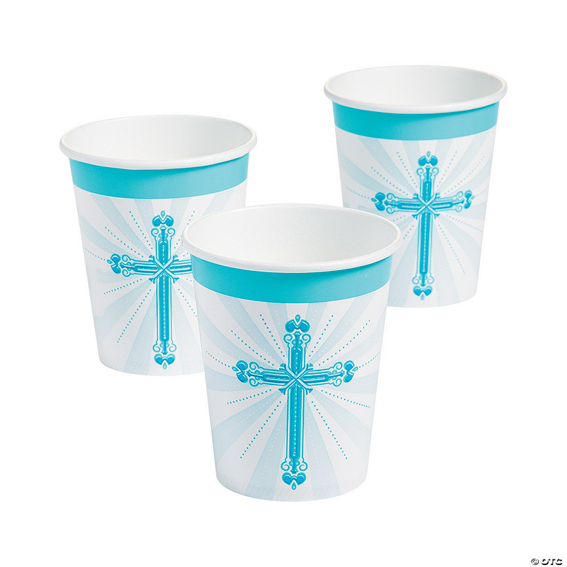 Blue Blessings Paper Cups Audio Thumbnail