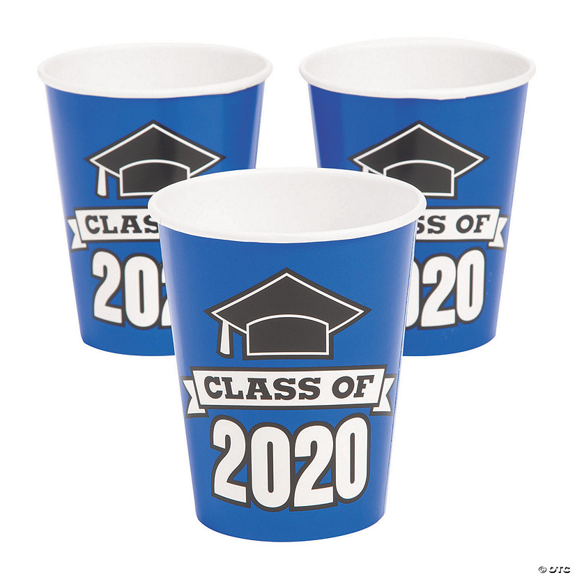 Blue Class of 2020 Paper Cups Audio Thumbnail