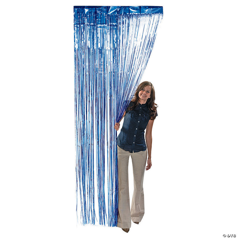 Blue Foil Fringe Curtain Audio Thumbnail