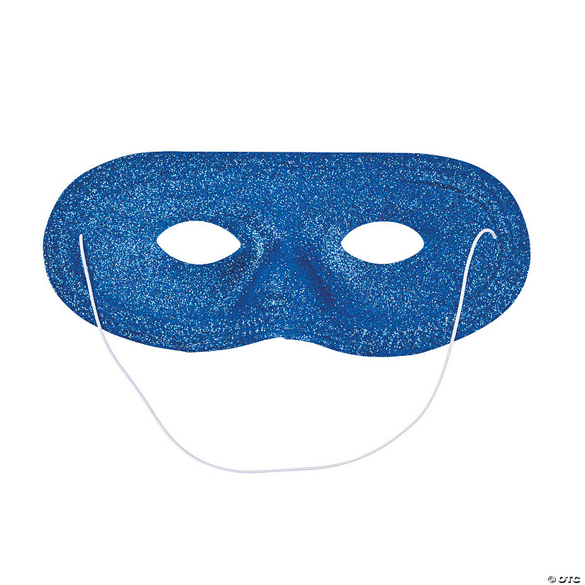 Blue Glitter Masks Audio Thumbnail