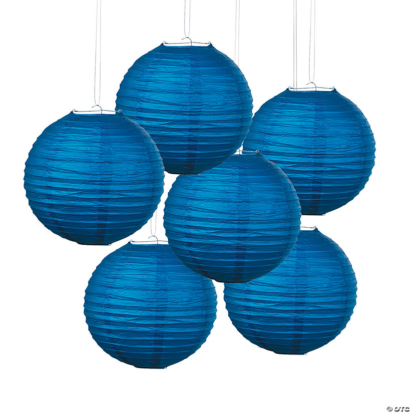 Blue Hanging Paper Lanterns Audio Thumbnail