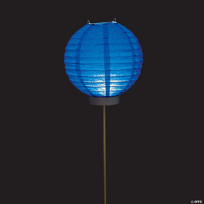 Blue Light-Up Balloon Paper Lanterns Audio Thumbnail