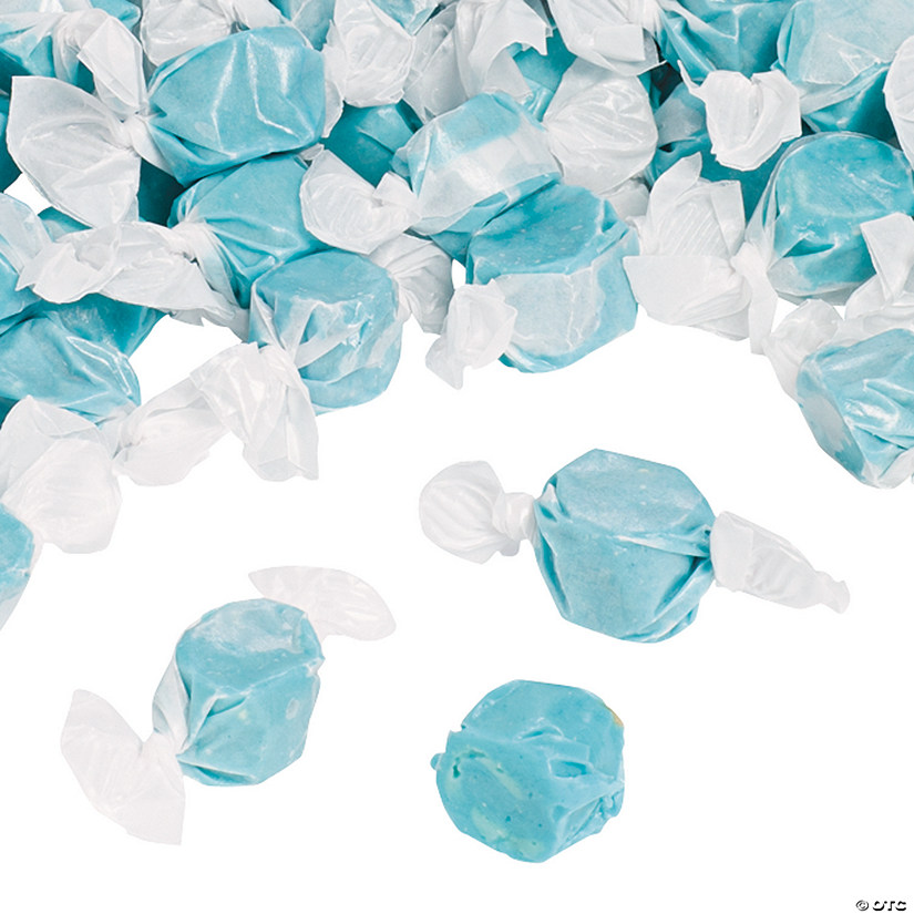 Blue Salt Water Taffy Candy