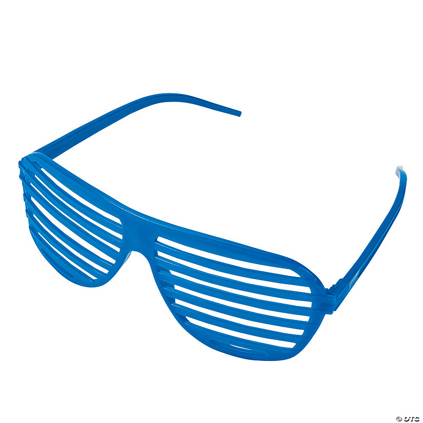 Blue Shutter Glasses - 12 Pc. Image Thumbnail