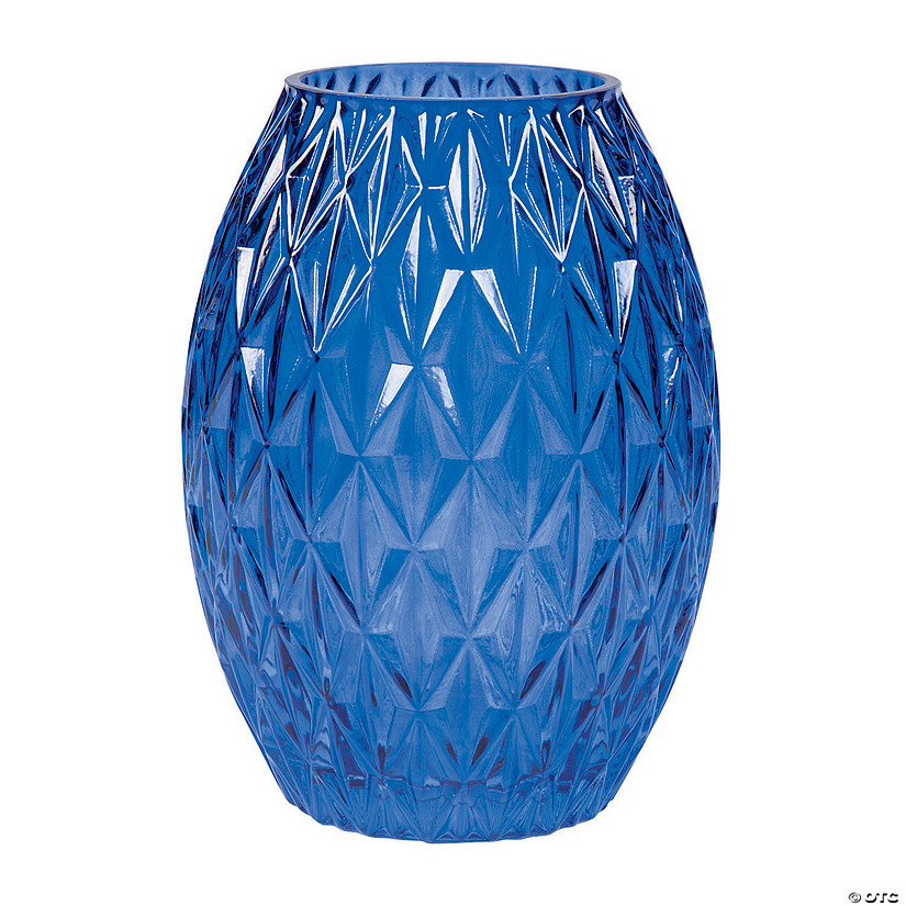 Blue Textured Glass Vase Audio Thumbnail