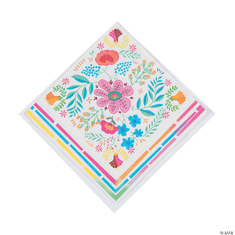 Boho Floral Luncheon Napkins Audio Thumbnail