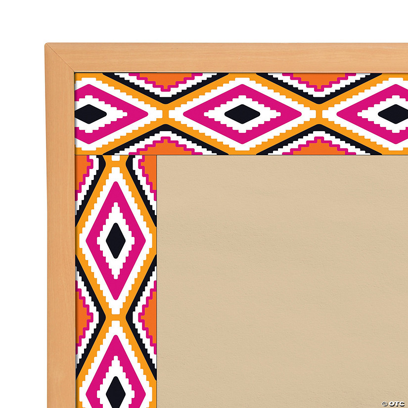 Bolder Borders<sup>&#174;</sup> Aztec Orange Bulletin Board Borders Audio Thumbnail