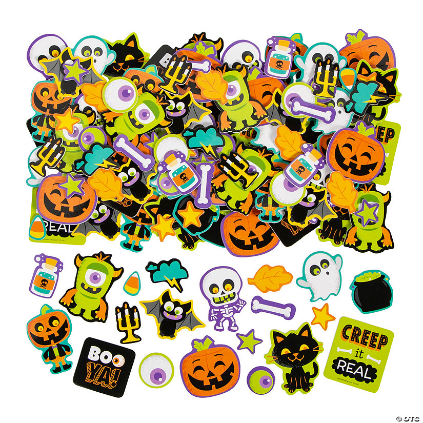 Boo Ya! Self-Adhesive Shapes Image Thumbnail