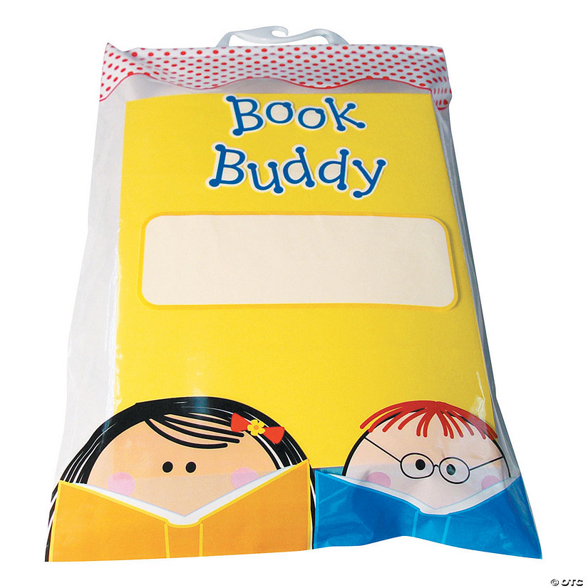 "Book Buddy Bags, 11"" x 16"", 5 Per Pack, Set of 3 Packs Image Thumbnail"