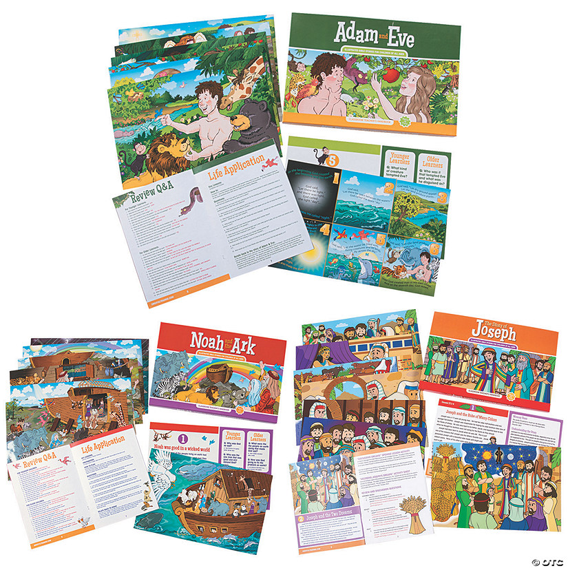 Book of Genesis At-Home Learning Kit Image Thumbnail