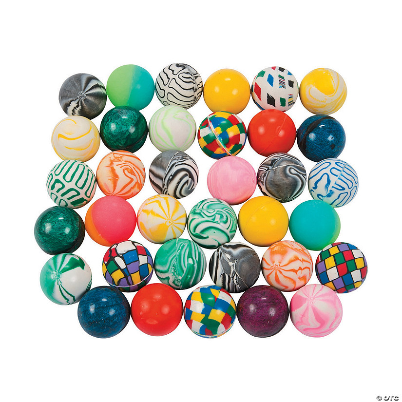 Bouncy Ball Assortment - 50 pcs. Image Thumbnail
