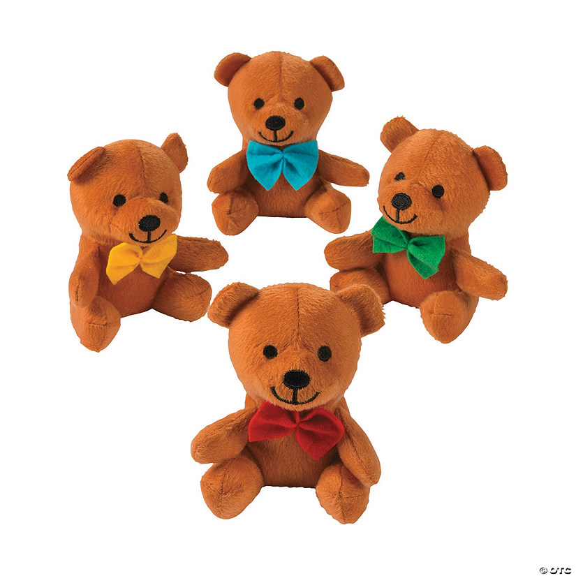 Bow Tie Stuffed Bears Image Thumbnail