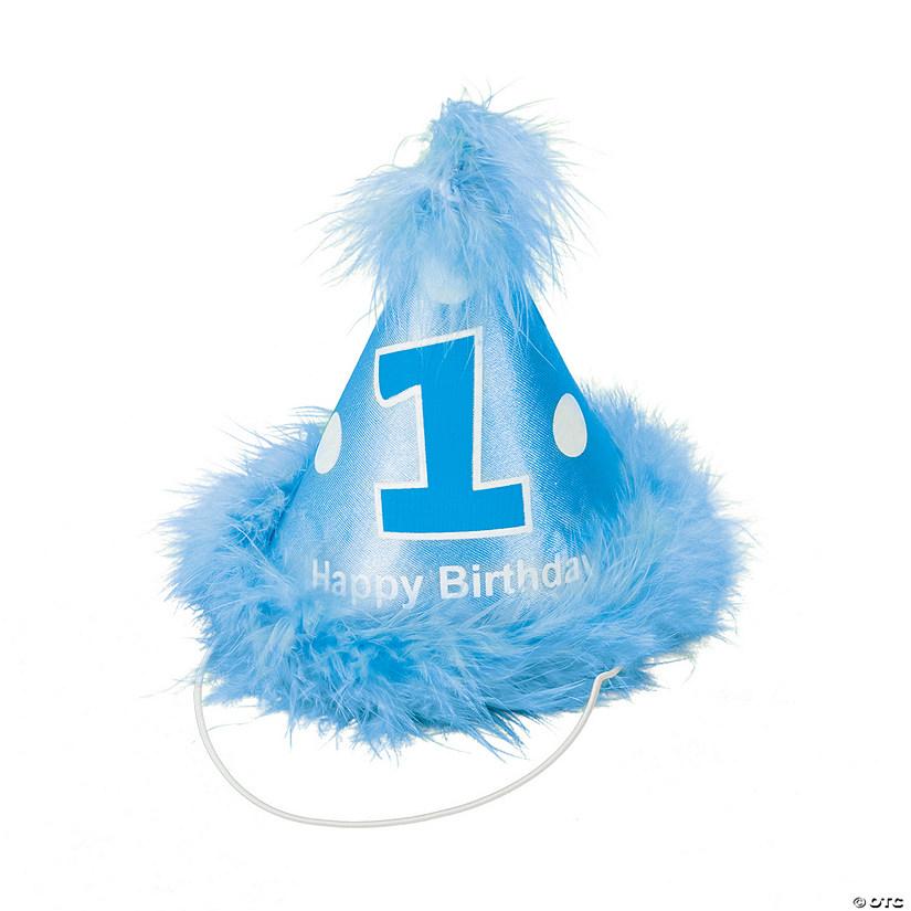 Boys 1st Birthday Cone Hat