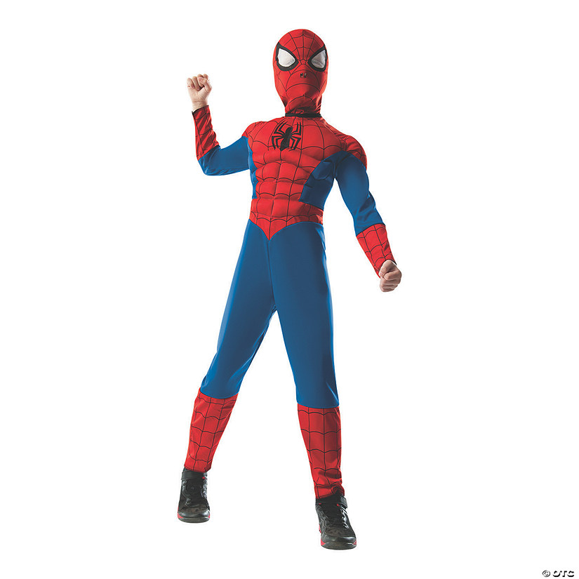 Boy's 2 In 1 Reversible Deluxe Spider-Man™ Costume Audio Thumbnail