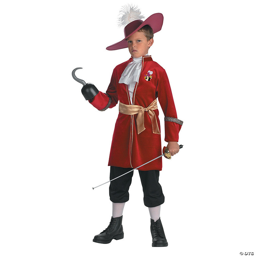 Boy's Captain Hook™ Costume Audio Thumbnail