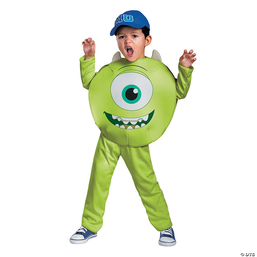 Boy's Classic Monsters University™ Mike Costume Audio Thumbnail