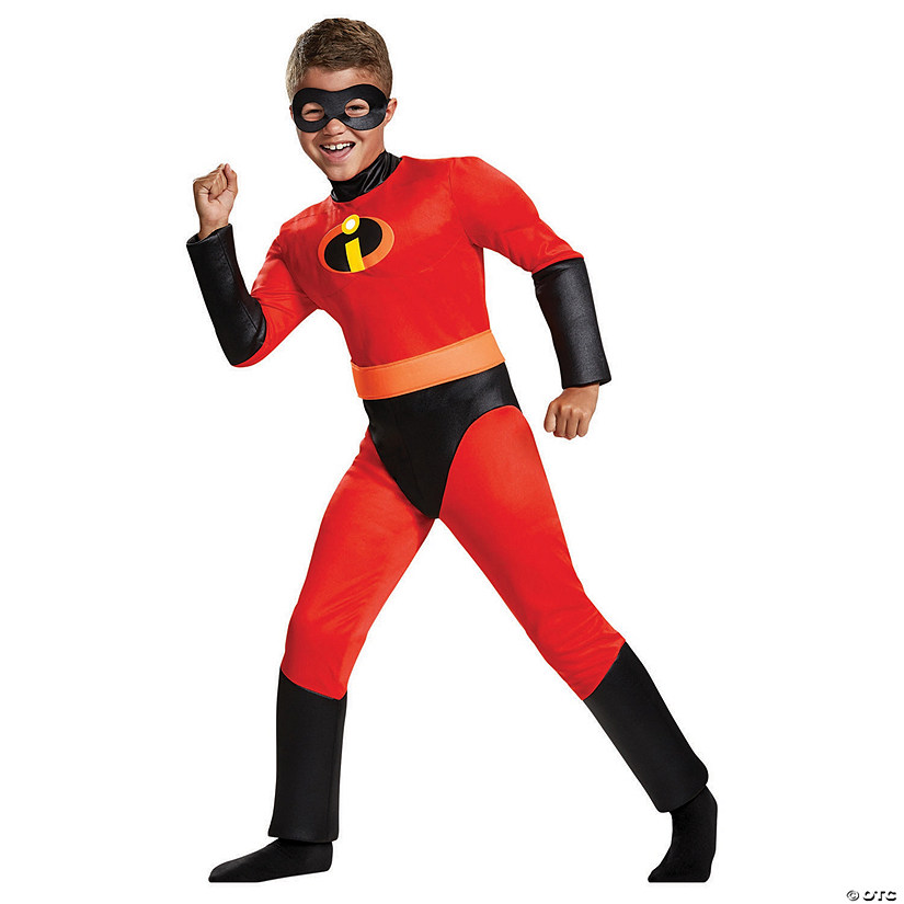 Boy S Classic Muscle Chest The Incredibles Dash Costume Oriental Trading