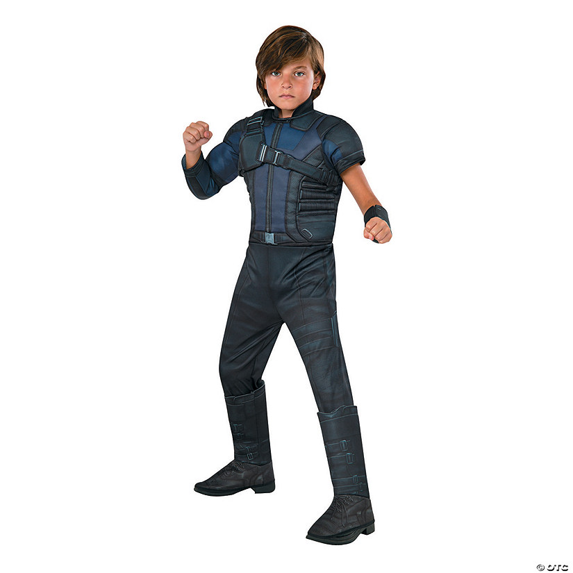 Boy's Deluxe Muscle Chest Captain America: Civil War™ Hawkeye Costume